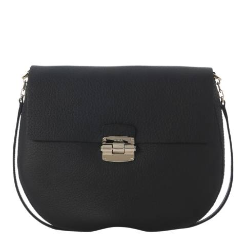Furla Black Club Large Cross Body Bag