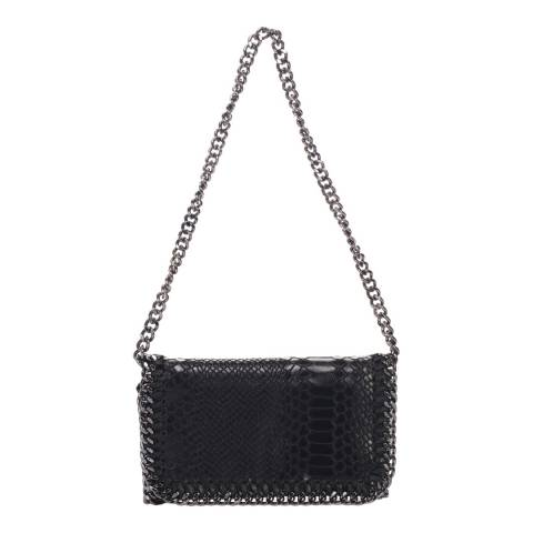Lisa Minardi Black Leather Crossbody Bag