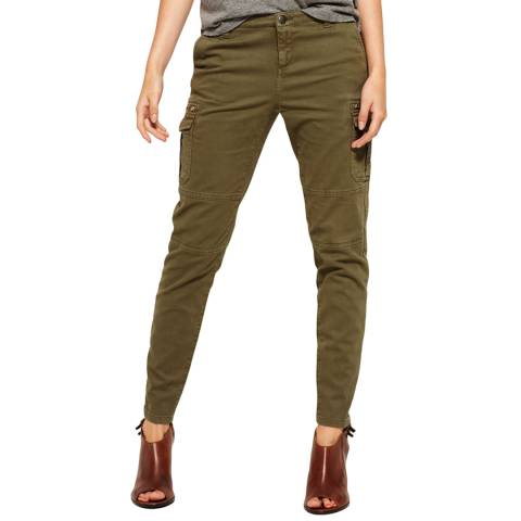 Superdry True Khaki Super Skinny Cargo Trousers