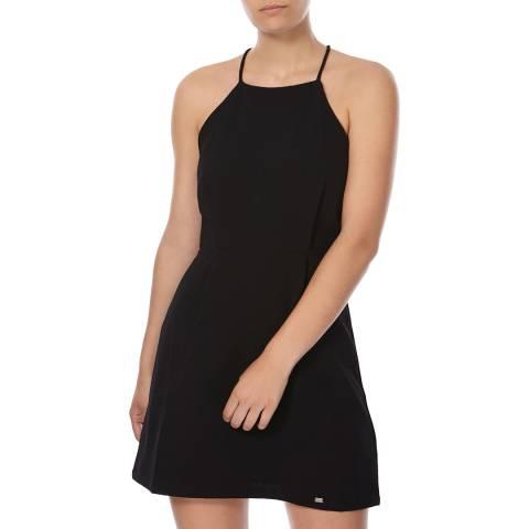 Superdry Black Sasha Lace Dress