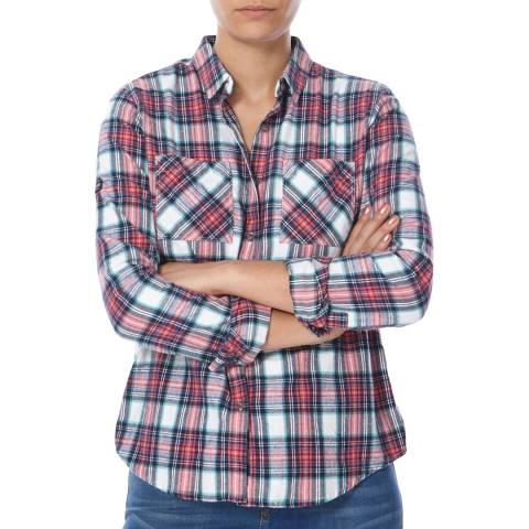 Superdry Agnetha Check New Lumberjack Twill Shirt