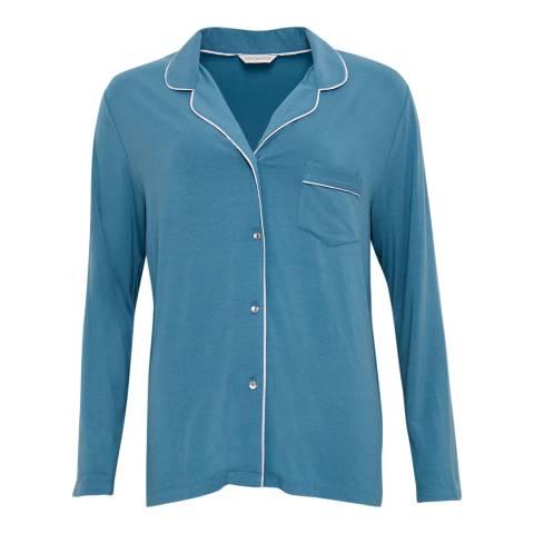Cyberjammies Blue Harriet Super Soft Long Sleeve Knit Pyjamas