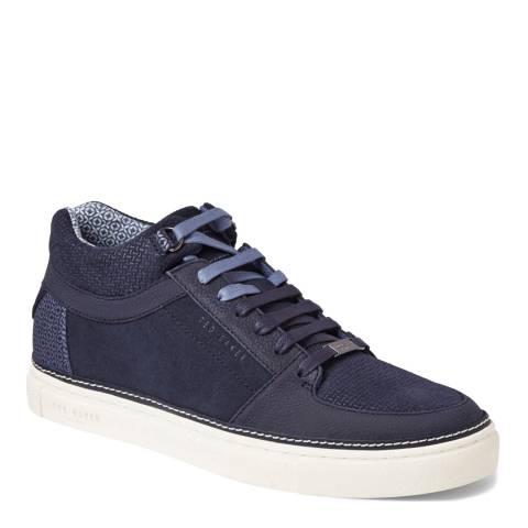 Ted Baker Navy Suede Komett Sneakers