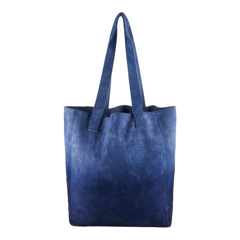 Superdry Navy Dip THE ANNEKA OMBRE TOTE