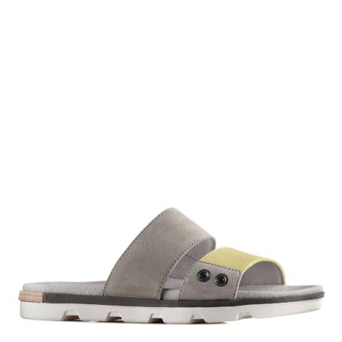 Sorel Women's Dove Zest Leather Torpeda II Slide Sandals