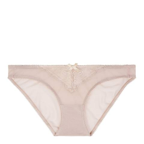 Heidi Klum Intimates Pink Scallop Shell Johana Bikini Brief