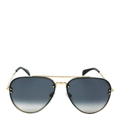 Celine Unisex Gold / Grey Gradient Sunglasses 58mm
