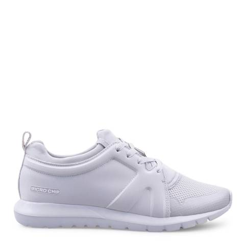 Pantone Womens Light Grey Kilimanjaro Sneakers