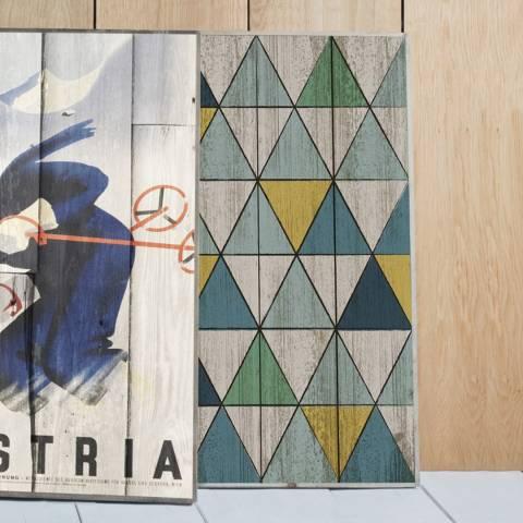 Gallery Niva Wall Art Rectangle 89x61cm