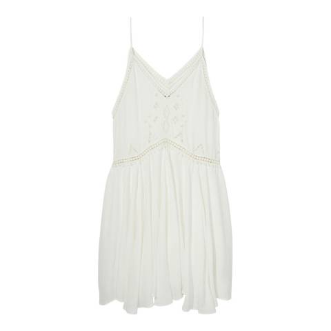 Maison Scotch by Scotch & Soda Off White Beach Favourite Dress