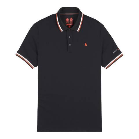 Musto Black Evolution Pro Lite Short Sleeve Polo Shirt