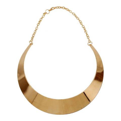 Chloe Collection by Liv Oliver Rose Gold Collar Necklace