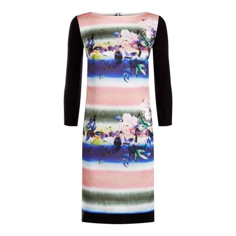 Damsel In A Dress Multi Coloured Romance Floris Dress