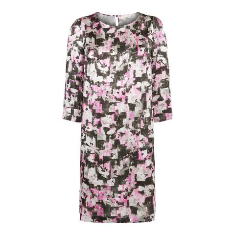 Damsel In A Dress Multi Floral Mirielle Silk Dress