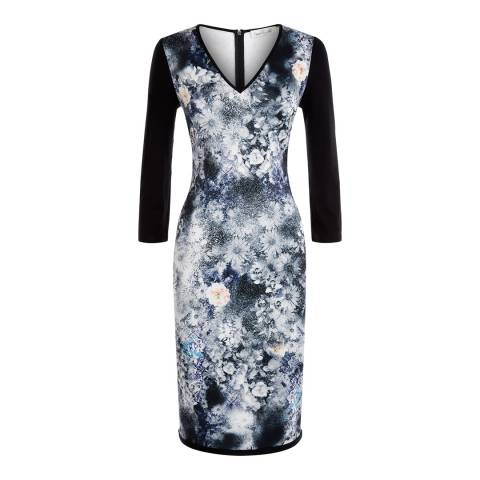 Damsel In A Dress Blue/Multi Spray Daisy Dress