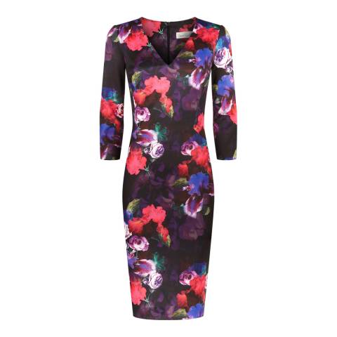 Damsel In A Dress Multi Floral Laurel Dress