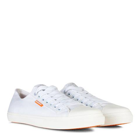 Superdry White Low Pro Trainers