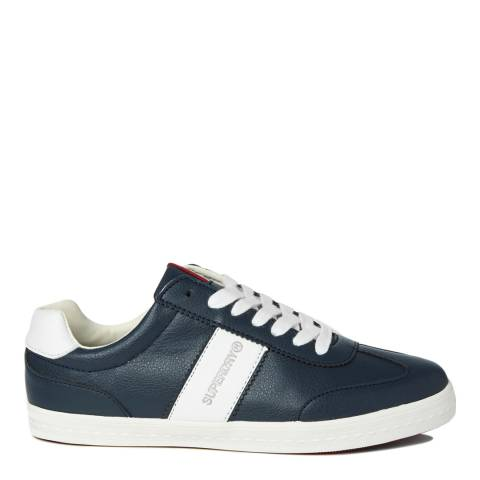 Superdry Navy Court Classic Sleek Trainers