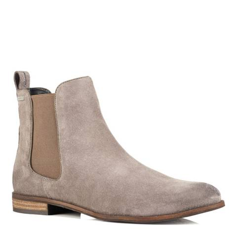 Superdry Dark Grey MILLIE SUEDE CHELSEA BOOT