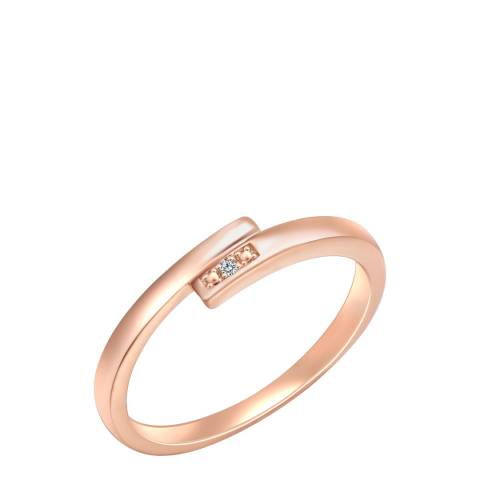 Tess Diamonds Rose Gold Crystal Ring