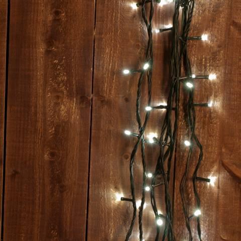 Festive Warm White 360 LED 8 Multifunction Lights 45.9m