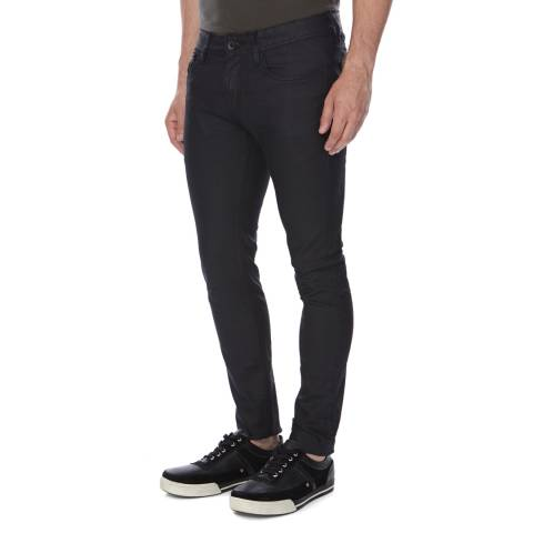 Superdry Charcoal Resonated Skinny Fit Jeans