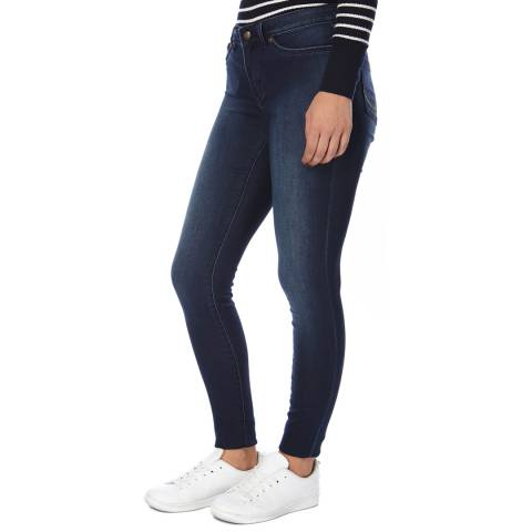 Superdry Mid Blue Worn Denim Jeggings