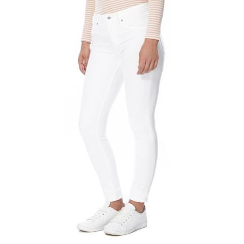 Superdry Optic White Alexia Denim Jeggings