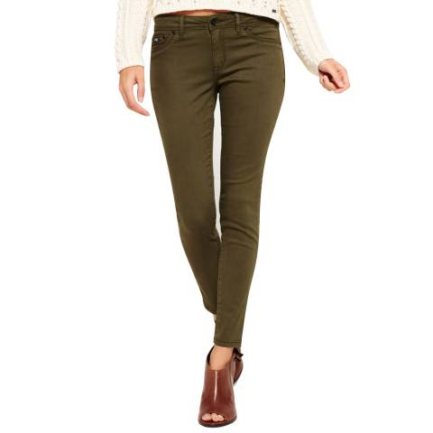 Superdry Khaki Alexia Denim Jeggings