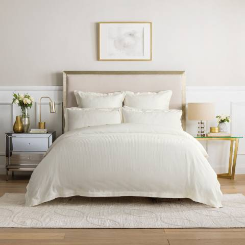 Sheridan Columbus King Duvet Cover Set, Chalk
