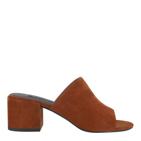 Senso Amber Suede Blend Ray Slip On Heels