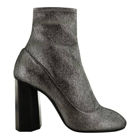 Senso Silver Stardust Leather Blend Umar II Boots