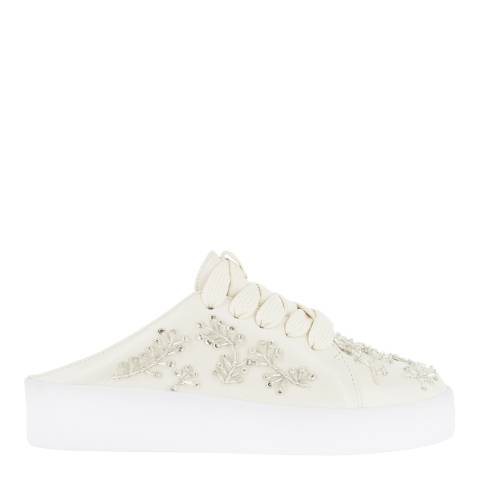 Senso Ivory Leather Blend Alannah Slip On Trainers