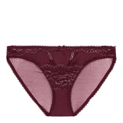 Pleasure State VIP Plum Red Zinfandel Laetitia Therese Mini Briefs