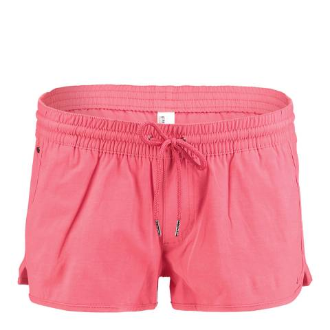O'Neill Women's Red Chica's Solid Shorts