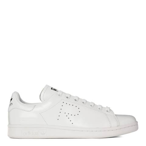 Adidas By Raf Simons Women's White Leather Stan Smith Trainers