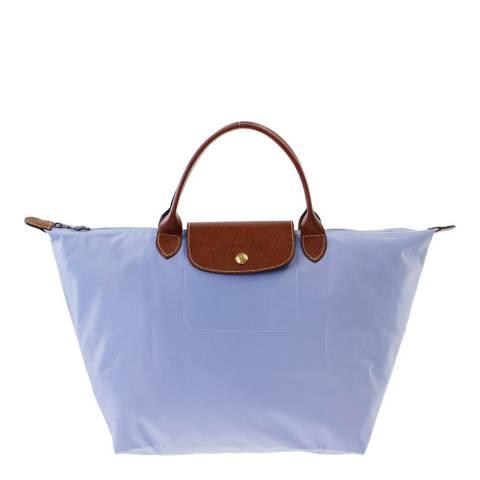 Longchamp Violet Medium Le Pliage Bag