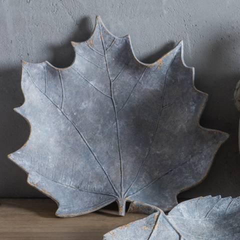 Gallery Grey Weathered Maple Leaf