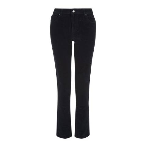 Hobbs London Black Orlagh Moleskin Jeans