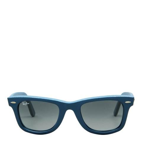 Ray-Ban Unisex Used Leather Blue Original Wayferer 50mm