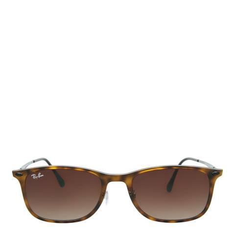 Ray-Ban Men's Matte Havana Wayferer Sunglasses 52mm
