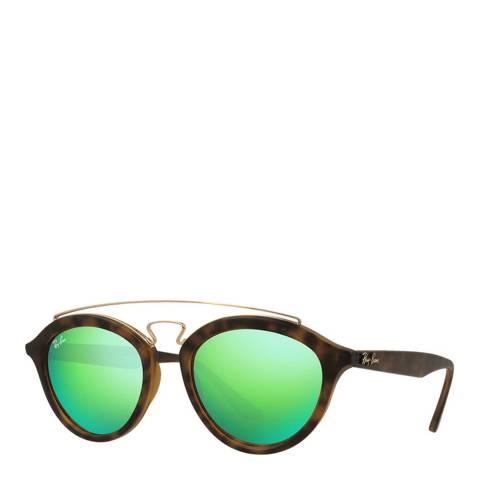 Ray-Ban Unisex Matte Havana Gatsby Sunglasses 46mm