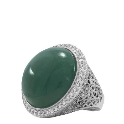 Liv Oliver Green Aventurine Ring