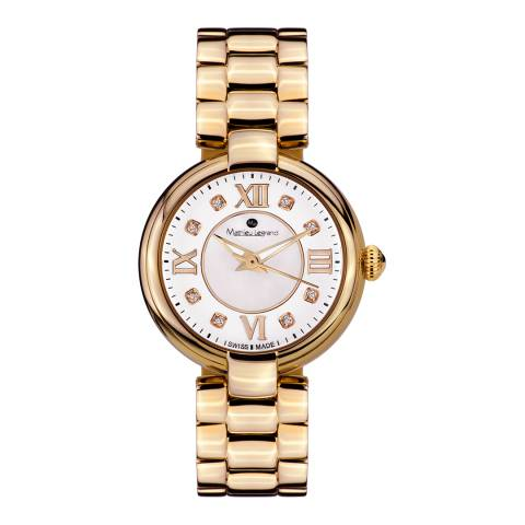 Mathieu Legrand Women's Gold Fleur du Matin Watch