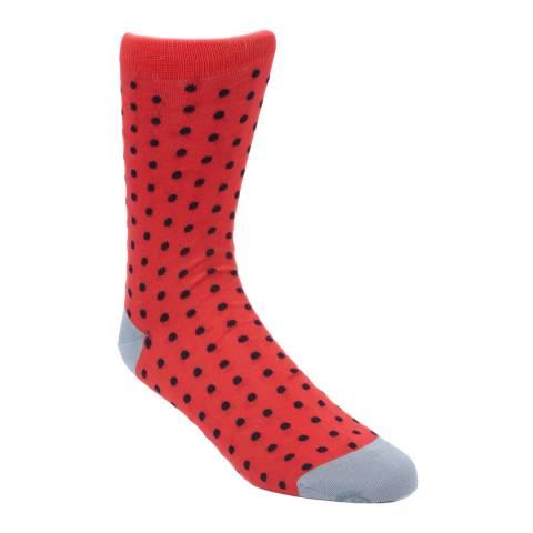 Oliver Sweeney Men's Red Igny Socks