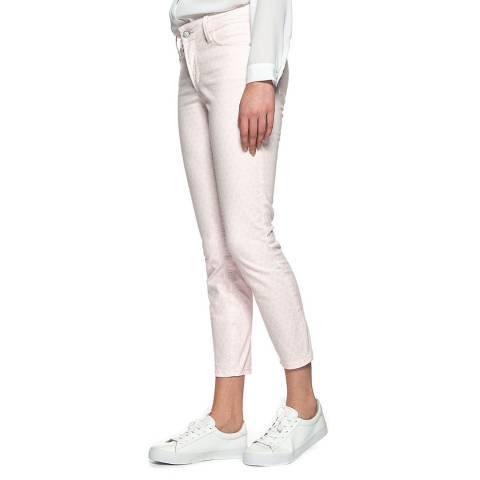 NYDJ Pink Dots Clarissa Stretch Jeans