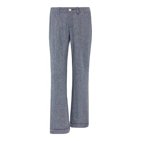 NYDJ Navy Claire Trousers