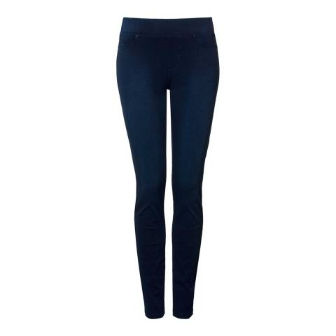 CBLA Indigo Rydel Pull On Cotton Stretch Jeggings