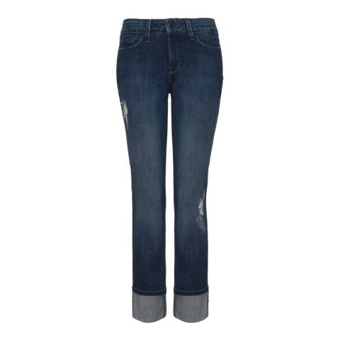 NYDJ Indigo Wash Lorena Boyfriend Cotton Stretch Jeans