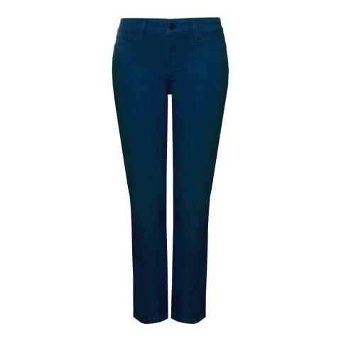 NYDJ Indigo Clarissa Ankle Cotton Stretch Jeans